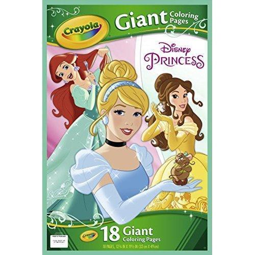 Crayola Disney Princess Giant Coloring Pages 040155 | eBay