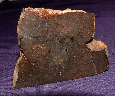 KöStlich Scheibe Stein-meteorit Jah 640, Heilstein, 58x45x7mm 44,1g 陨石 GroßEr Ausverkauf