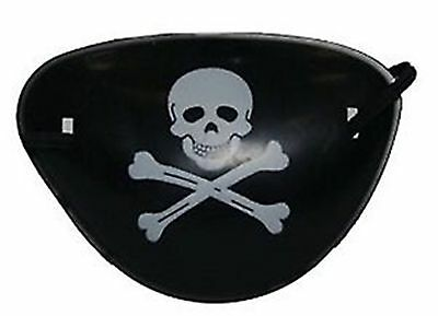 Plastic Pirate Eye Patch Ideal Boy Party Loot Bag Filler Toy Dressing up Costume