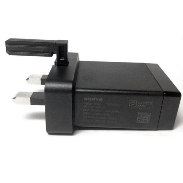 Genuine EP880 Mains Charger Adapter Only For Sony Xperia Z,Z1,Z2,SP,M,E,J,TS,Go