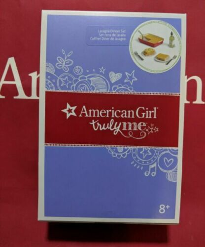 American Girl Spaghetti Dinner Set Accessories New