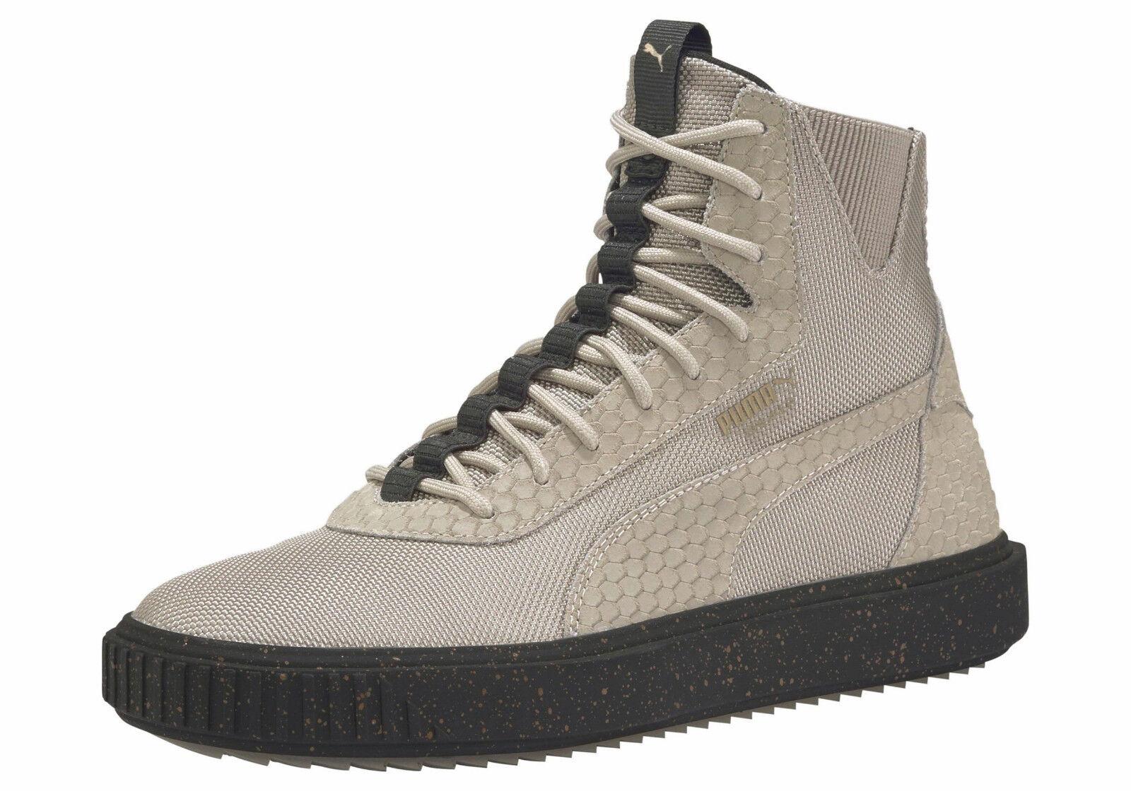 PUMA Breaker Hi Blocked Sneaker Grau F01 Gr. 47
