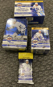 2019-20-Upper-Deck-Series-2-NHL-Hockey-Tin-Mega-Blaster-Box-Fat-Pack-DEAL