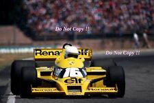 Rene Arnoux Renault RS01 Argentine Grand Prix 1979 Photograph