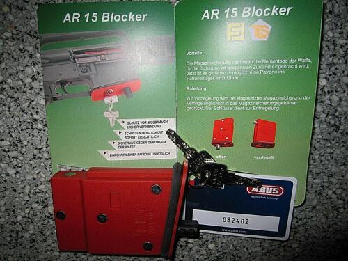 4 in 1 Franzen AR 35 Blocker Magazinsicherung