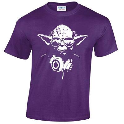 Infantil Dj Yoda Camiseta Estrella Soldado Música Storm Wars Jedi Divertido
