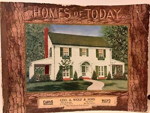 Details about Vintage 1920s STANDARD HOMES COMPANY Blueprint Catalog 1928  Home Plans