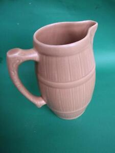 ART-DECO-SYLVAC-POTTERY-LARGE-BROWN-JUG-VASE-VINTAGE-1930-039-s-GIFT