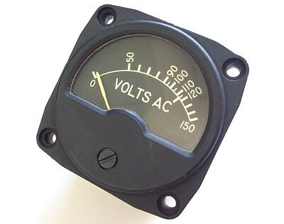 Mfr. Weston Instruments VOLTMETER INDICATOR AN3202-1 260245 MS24332-1