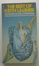 BEST OF KEITH LAUMER 1976 POCKET BOOK #80310 1ST ED PAPERBACK PBO BARRY MALZBERG