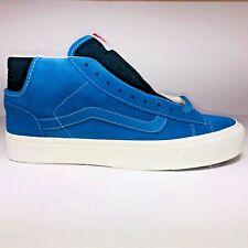 f527212dd596 VANS OG Mid Skool LX Suede Blue Black Skateboard SNEAKERS Vn0a3dp7un3 Size  10