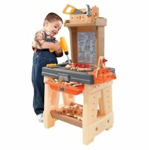 Incredible Details About Kids Workbench Tool Bench Workshop Play Set Boys Girls Toy Activity Accessories Creativecarmelina Interior Chair Design Creativecarmelinacom
