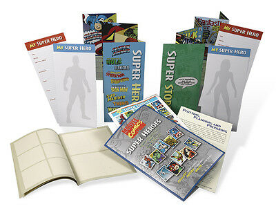 USPS New Marvel Super Heroes Stamp Kit