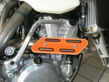 Krümmerschutz orange für KTM SX-F EXC 250 350 450 500 530 Auspuff Hitzeschutz