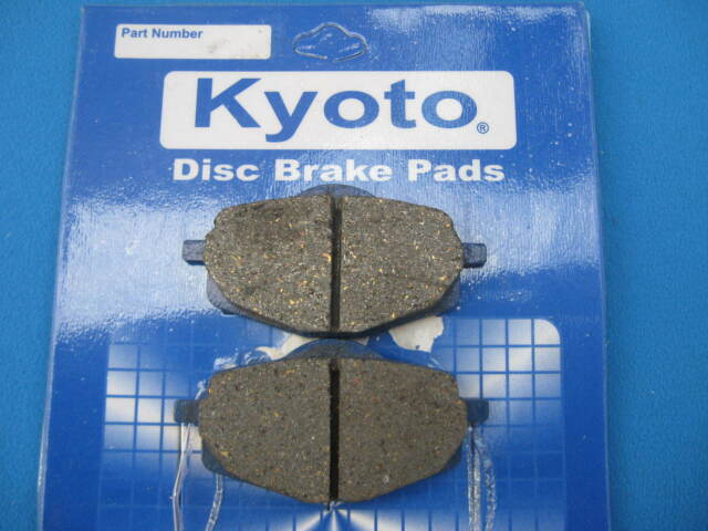 YAMAHA DT125 LC  FRONT BRAKE DISC PADS  1985  - 1987