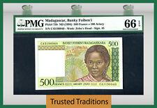 TT PK 75b 1994 MADAGASCAR BANKY FOIBEN'I 100 ARIARY PMG 66 EPQ GEM UNCIRCULATED