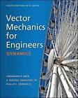 Vector Mechanics for Engineers: Dynamics (in SI Units) by E. Russell Johnston, Phillip J. Cornwell, Ferdinand P. Beer (Paperback, 2013)
