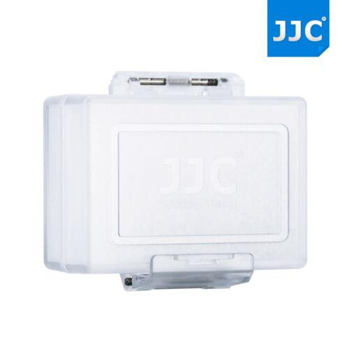 JJC 4PCS Resistente al Agua Caja de Batería para Cámara DSLR Canon Nikon Sony Fujifilm