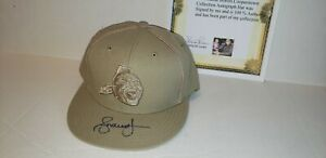 ANDRUW JONES ATLANTA BRAVES AUTOGRAPH COOPERSTOWN HAT MLB ALL STAR NWT