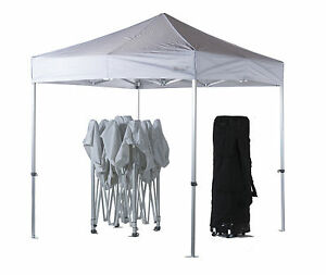 Image is loading 3m-x-3m-White-Poptents-Heavy-Duty-Pop-  sc 1 st  eBay & 3m x 3m White Poptents Heavy Duty Pop up Marquee Market Tent ...