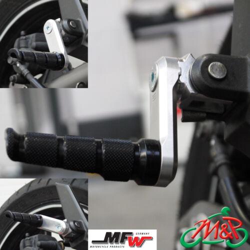 Honda CB 1300 X4 J 1997 Vario 50mm Adjustable Rear Footrests Foot Peg