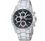 SEIKO-Chronograph-SND371-SND371P1-Men-Black-Dial-100m-Stainless-Steel-Watch thumbnail 2