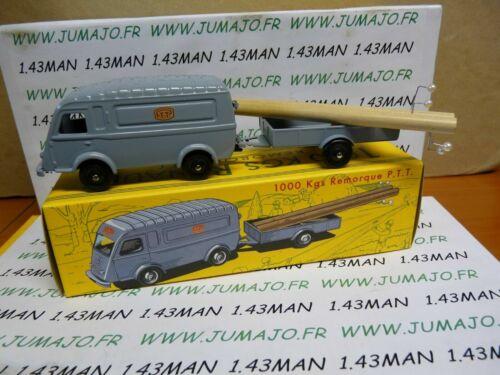 Trailer CIJ2G Car 1//43 Reissue Cij Norev Renault 1000 kg Ptt