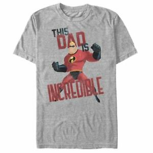 DISNEY-Pixar-THIS-DAD-IS-INCREDIBLE-MR-INCREDIBLES-T-Shirt-LARGE-Great-Gift
