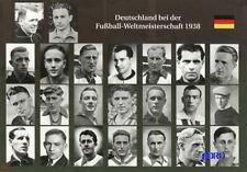 Fußball Weltmeisterschaft 1938 + Deutschland + Die Mannschaft + BigCard #490 +