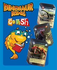 Dinosaur King Cards GO FISH DECK! - Upper Deck Cards - Fun 52 Card Dinosaur Game