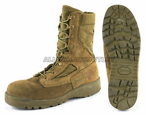 US Military HOT WEATHER Coolmax COMBAT BOOTS Vibram Sole Coyote USA ... dc0cbdd44
