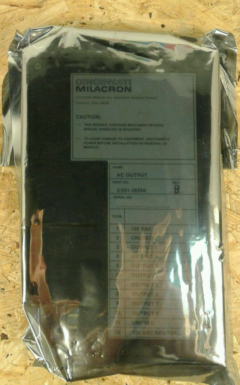 FEEDRATE CONTROL AC OUTPUT BOARD CINCINNATI MILACRON 3-531-3563A PC BOARD