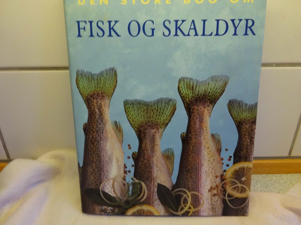 Den store bog om fisk og skaldyr, Könemann, emne: mad og vin