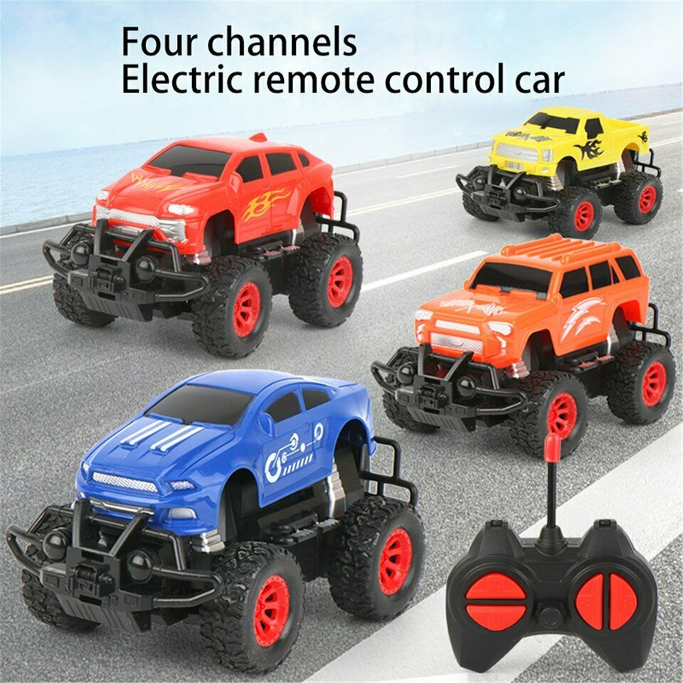 2.4G Remote Control 1:32 RC Toy Crawler Truck Off Road Rock Car 6WD Climbing Toy