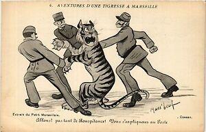 Cpa Aventures D'une Tigresse A Marseille 6 Allons! (403591) Ejilpcs3-07215447-778319873