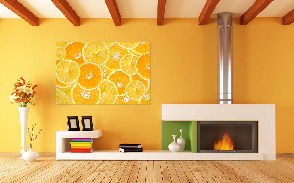 3D Goldene Orange 623 Fototapeten Wandbild BildTapete AJSTORE DE Lemon