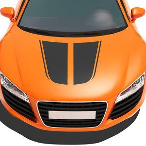 Sport-Rennstreifen-Motorhaube-Aufkleber-Dekorstreifen-Rallye-Streifen-Auto-1236