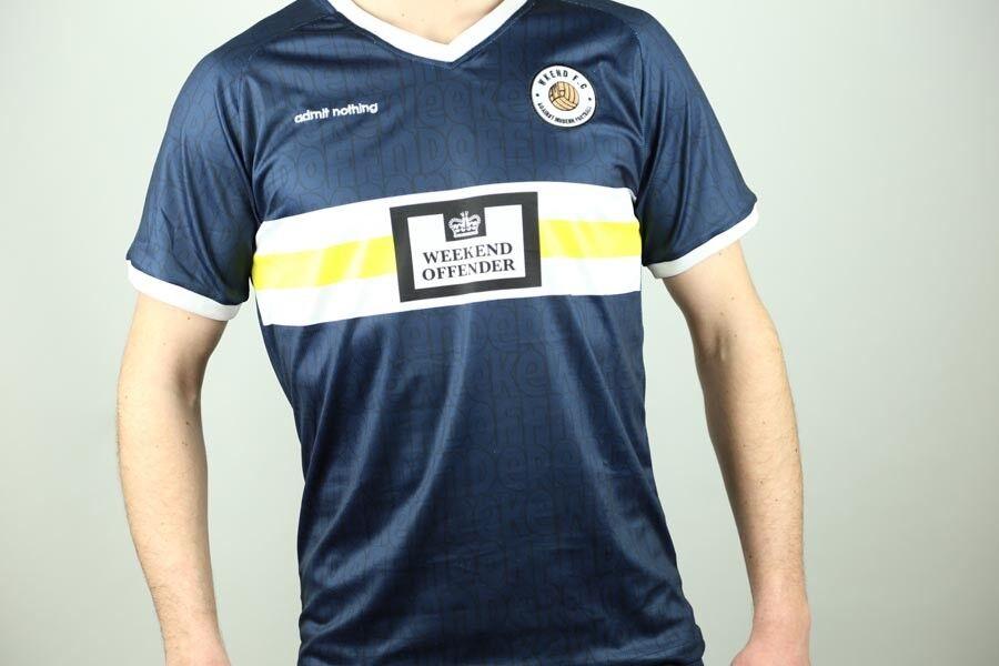 Weekend Offender - Football - T-Shirt   Trikot - Weekend FC - Navy - TSSS1820