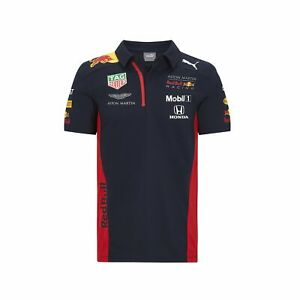 Details about Red Bull Racing F1 2020 Men's Team Polo Navy