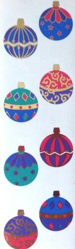 Mrs Grossman/'s ORNAMENTS FOIL 1998 Stickers Reflections