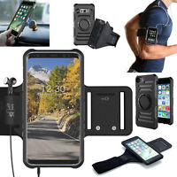 Gym Sports Armband Running Jogging Case Arm Holder Cover For iPhone 7 Samsung S8