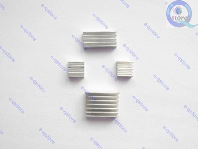 Heatsink Set 4 Aluminum Fins Heat dissipation Cooling Protect for M.NT68676.2A
