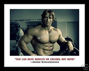 Details About Arnold Schwarzenegger 11x14 Print Bodybuilding Motivation Terminator