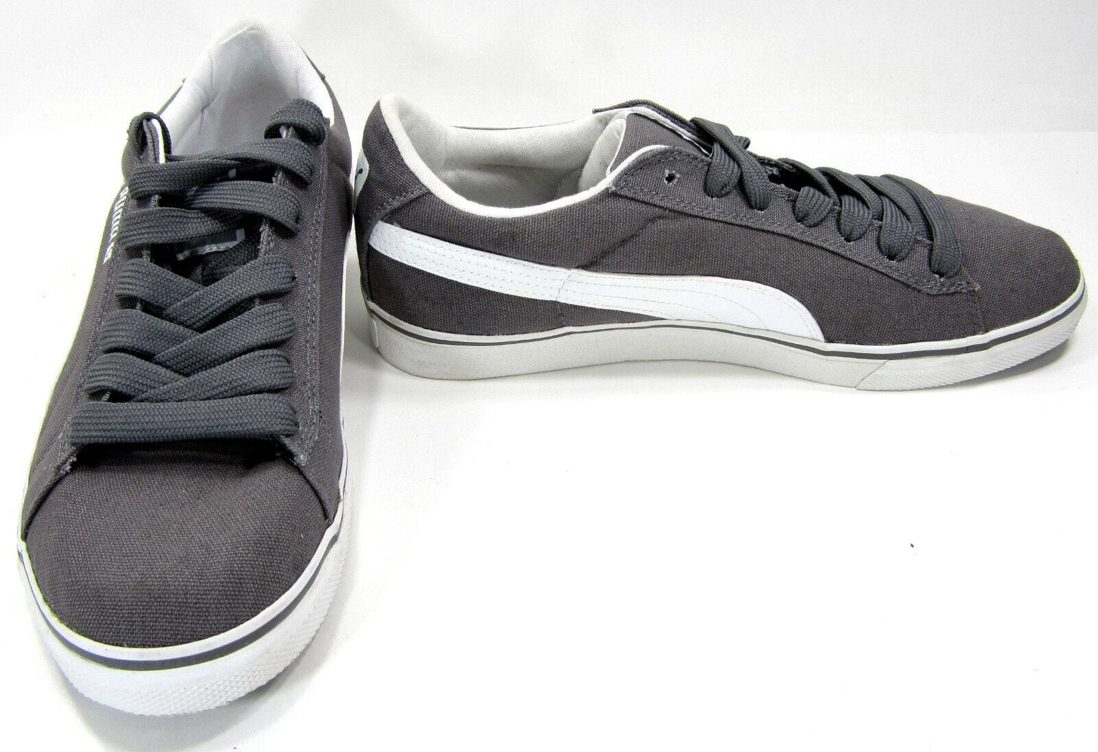Puma Shoes Classic Vulcanized Canvas Lo Gray Sneakers Size 10 Scarpe classiche da uomo