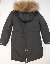NEU AF AIRFORCE Echtfell Winter Parka Winterjacke 14 164 170 jacket UVP389€ jas