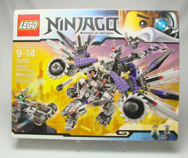 LEGO Ninjago Nindroid MechDragon (70725) for sale online ...
