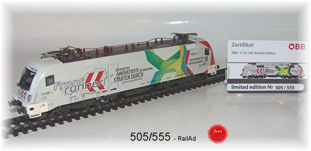 Railad 1035 ac e-Lok Taurus ÖBB 1116 130 frontrunner corriente alterna versión  neu