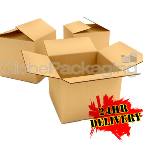 """25 x S//W REMOVAL CARDBOARD MAILING BOXES 18x12x10/"""" 24HR"""