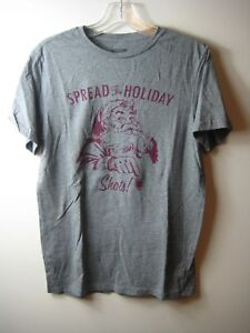 bc09812239b Image is loading MENS-MOSSIMO-SPREAD-THE-HOLIDAY-SHOTS-GRAY-CHRISTMAS-