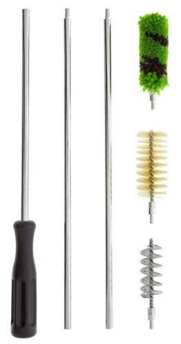 6 Piece Aluminum Rod SHOTGUN Cleaning Brush Kit Set 12 GA Gauge /& FREE BRUSH!